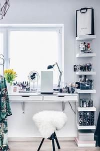 Regal Dekorativ Einrichten : die besten 25 make up aufbewahrung ideen auf pinterest ikea make up aufbewahrung make up ~ Eleganceandgraceweddings.com Haus und Dekorationen