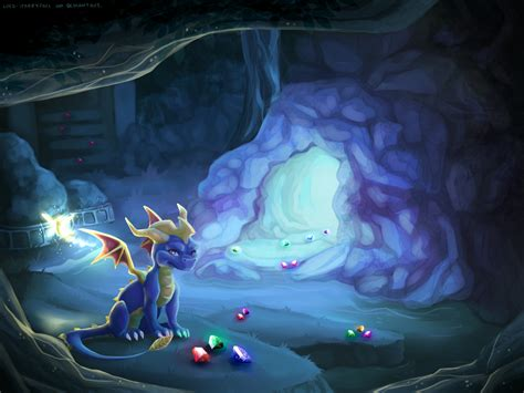 Spyro And Sparx Full Hd Wallpaper And Background Image
