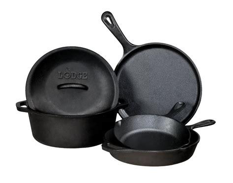 lodge  piece cast iron cookware set review buy