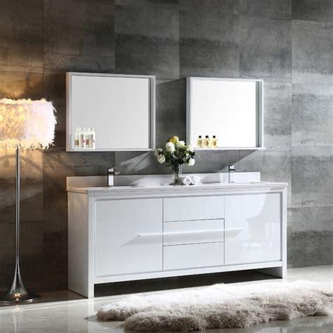 72 inch bathroom mirror shop fresca allier 72 inch white modern sink 15337