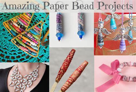 handmade paper bead project roundup