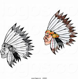 indian headdress clipart black and white - Jaxstorm ...