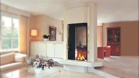 20 Functional Double-sided Fireplaces For Your Spacious