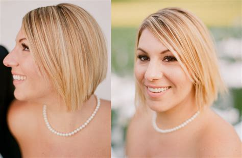 25 Short Hair Bridal Styles