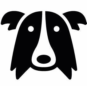 Border Collie Dog Head Download | Cricut | Pinterest ...