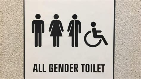 cbs    gender toilets signs