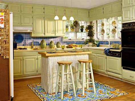 painted kitchen cabinets ideas colors kitchen decorating how to paint your cabinets the budget decorator