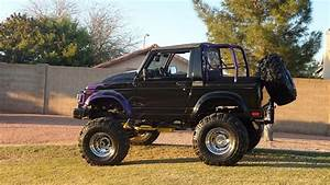 Suzuki Samurai 1988 Black For Sale  Js4jc51c5j4277204 1988 Suzuki Samurai 4wd Fully Customed