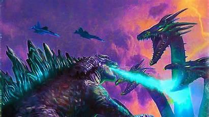 Godzilla Monsters King Poster Wallpapers 4k Movies