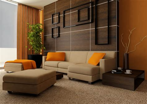 modern living room idea living room orange ideas simple home decoration