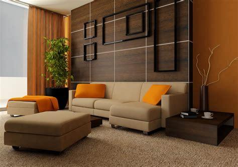 Living Room Orange Ideas  Simple Home Decoration