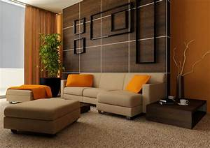 Living room orange ideas simple home decoration for Orange living room decor
