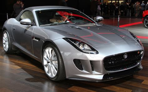 Jaguar F Type Silver