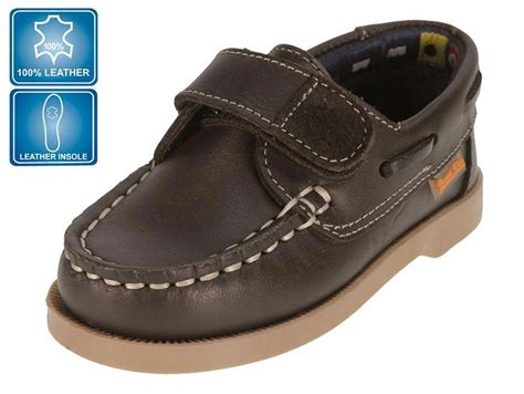 Boys Brown Boat Shoes by Beppi Boys Brown Leather Boat Shoes Size 12 Fast