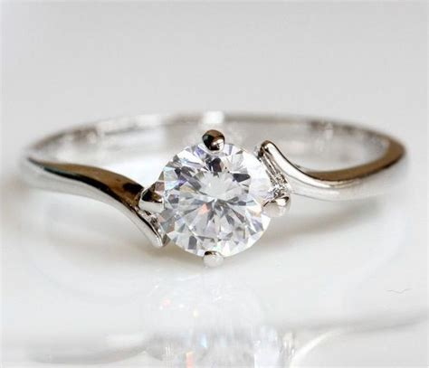 simple and elegant engagement ring that in your finger bridalore
