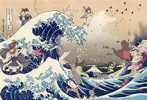 The Great Wave off Kanagawa [Hashibuto Artwork]