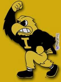 Iowa Hawkeye Herky Logo