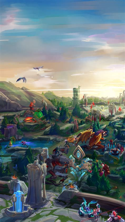 HD wallpapers league of legends live wallpaper for iphone