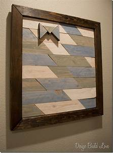 How To Make Wall Art For Your Home Using Reclaimed Wood