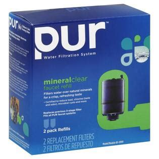 Pur Faucet Filter Refill by Pur Replacement Filters Mineral Clear Faucet Refill 2