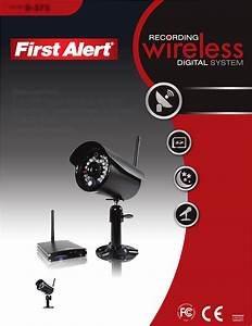 First Alert Home Security System D575 User Guide