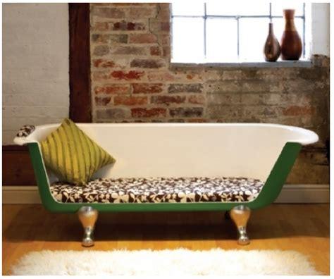 repeindre un canapé en tissu comment recycler une vieille baignoire