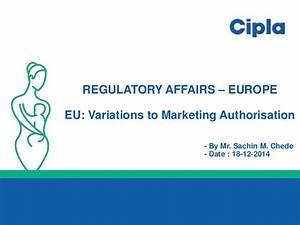 EU Variations & Renewals