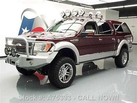 buy   ford  platinum crew lifted  sunroof