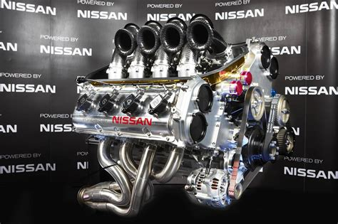 nissan motorsport vk56de v8 supercar engine unveiled performancedrive
