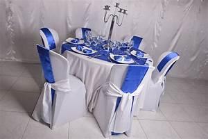 Deco Mariage Bleu Marine : decoration table mariage bleu roi ~ Teatrodelosmanantiales.com Idées de Décoration