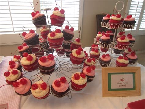Cherry Themed Twin Baby Shower