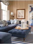 Navy Blue Interior Design Idea Living Room Navy Blue Sofa Paint Color Ideas Interior Design