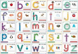 Dot to dot alphabet letter charts learning 4 kids for Dots alphabet letter