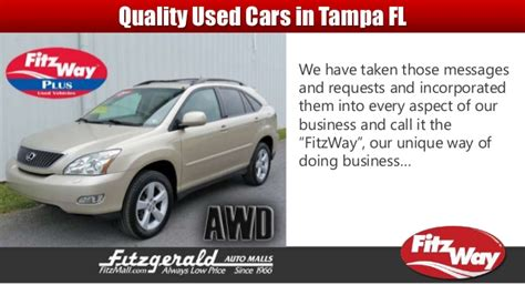 Used Car Dealerships Fl by Used Cars Ta Florida Fitzmall Best Used Car