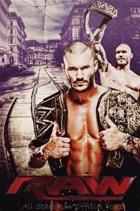WWE Raw Fan Posters