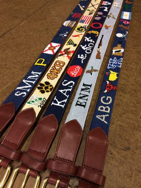 hunting belt needlepoint kits  canvas designs