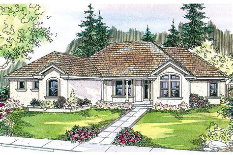 Mediterranean House Plans  Roselle 30427  Associated