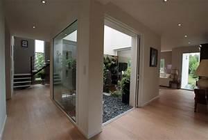 beautiful escalier maison contemporaine pictures With peindre rampe escalier bois 13 le design des escaliers contemporains bricobistro