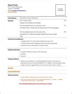 resume for interviews i my tcs next week can anyone post a sle resume format for tcs interviews
