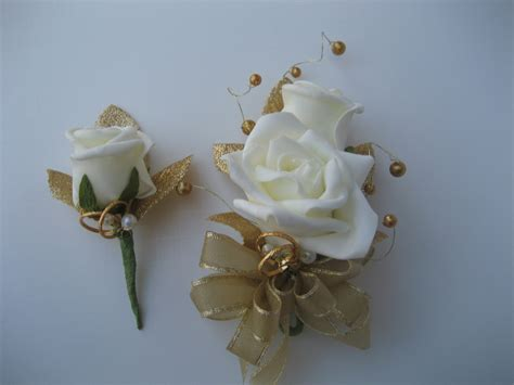 50th Wedding Anniversary Corsage And Boutonniere