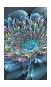 Multifacet Flower - Blue, Beautiful, Gorgeous Colors ...