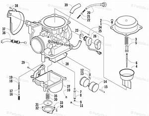 Arctic Cat 400 Carburetor Diagram