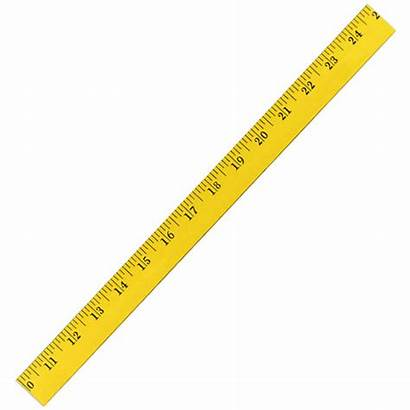 Ruler Clipart Yellow Inch Measuring Rulers Inches