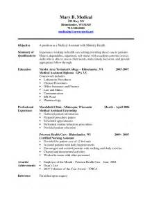 law graduate resume objective medical support assistant resume student resume template