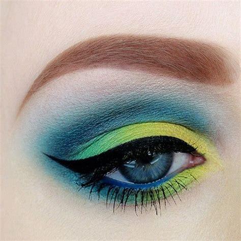 dramatic colorful makeup tutorials