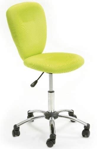chaise de bureau vert anis