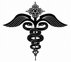 Caduceus Vector - ClipArt Best