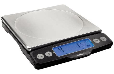 oxo good grips digital kitchen scale  pull  display