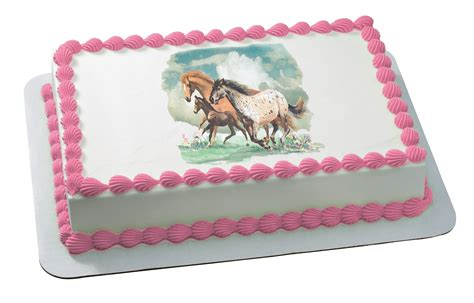 edible toppers decopac horses cupcake birthday cake horse boo monsters inc wild discover