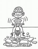 Diggers Bits Coloring Squid Popular sketch template